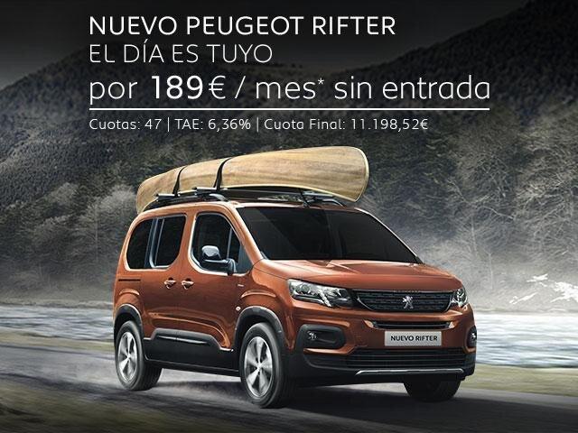 Oferta Nuevo Peugeot Rifter Marzo