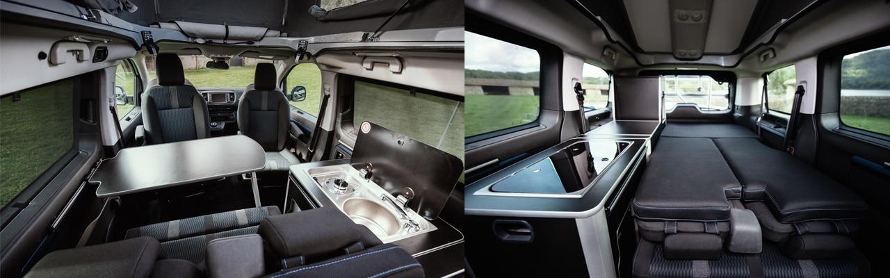 Peugeot y Tinkervan presentan su nueva gama Camper