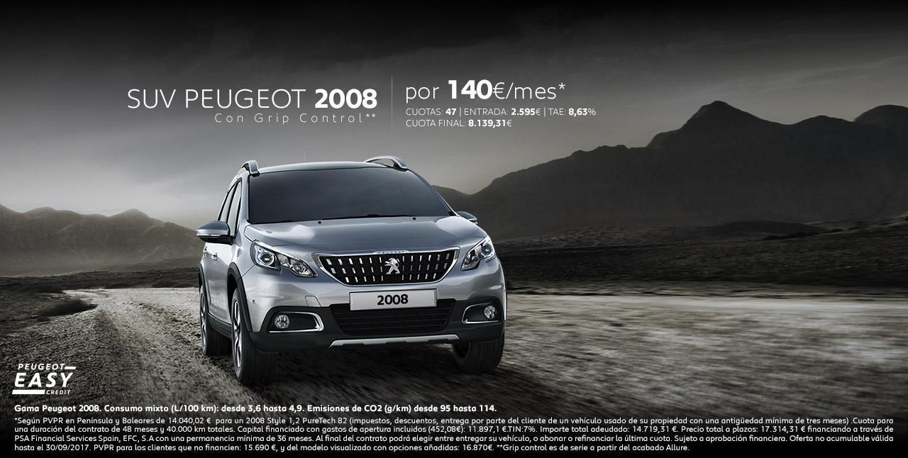 Peugeot 2008 - oferta