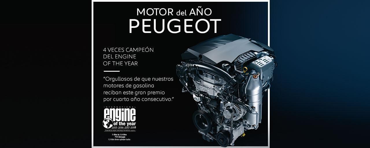 Motores PureTech: Motor del año Peugeot 2018