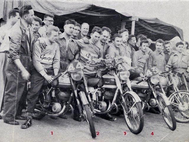 Historia Peugeot Motos
