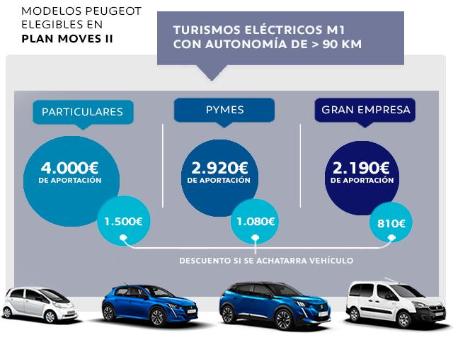 Turismos eléctricos M1 - Plan Moves