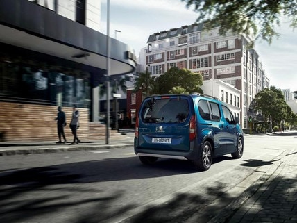 Nuevo e-Rifter Motor  100% eléctrico en la ciudad