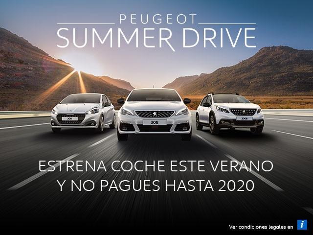 Peugeot Summer Drive - Estrena coche este verano 2019