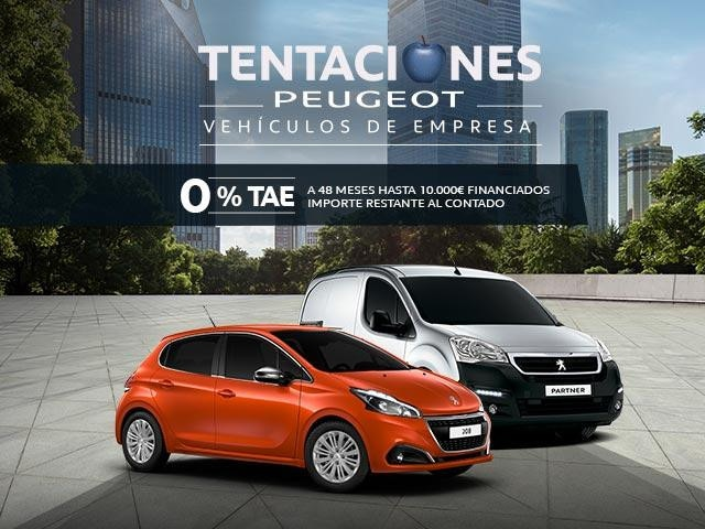 Ofertas Tentaciones Peugeot Empresas