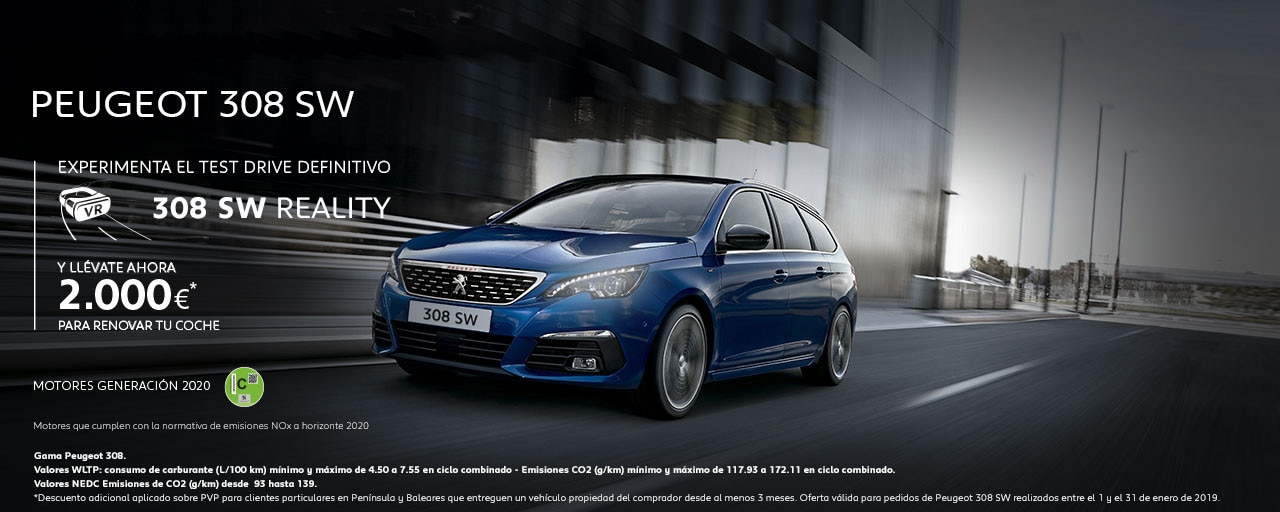 Mainbanner Peugeot 308 SW Test Drive Reality