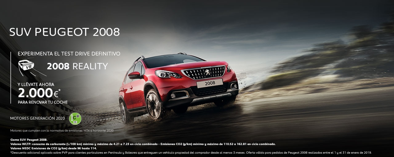 Mainbanner SUV Peugeot 2008 Test Drive Reality