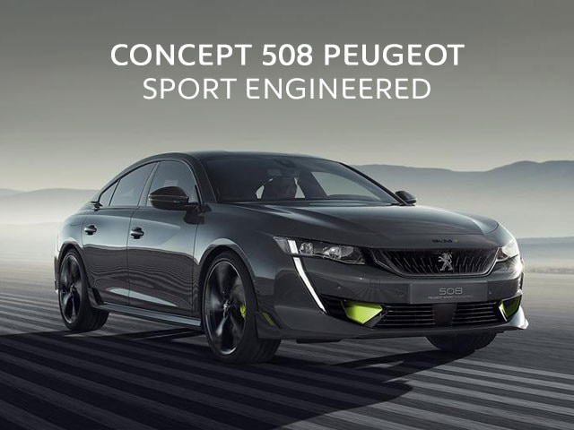 Mainbanner Concept 508 Peugeot Sport Engineered Móvil