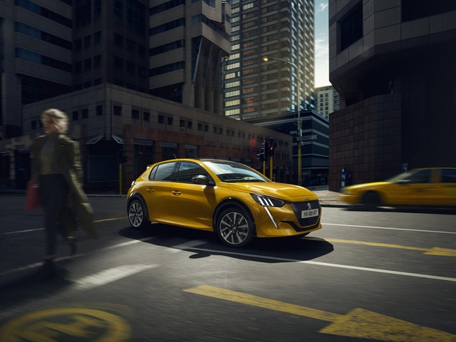 NUEVO PEUGEOT 208 – Parte frontal expresiva