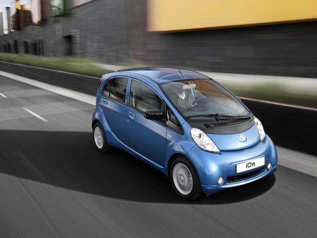 Coche eléctrico Peugeot iOn seguridad