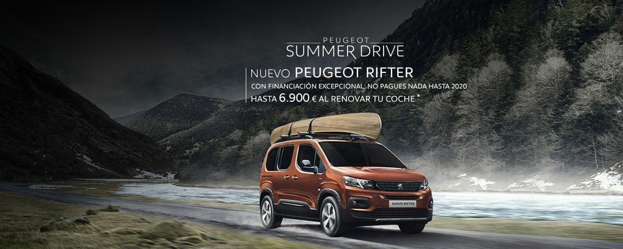 Nuevo Peugeot Rifter Summer Drive