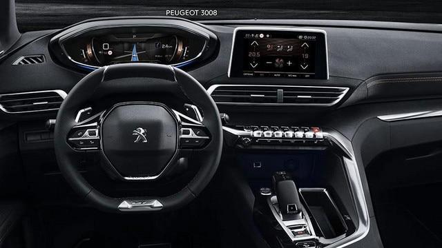 SUV PEUGEOT 3008: i-Cockpit