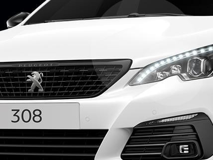 Peugeot 308 Black Pack Edition Frontal