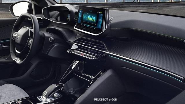 NUEVO PEUGEOT e-208 – NUEVO PEUGEOT i-Cockpit® 3D