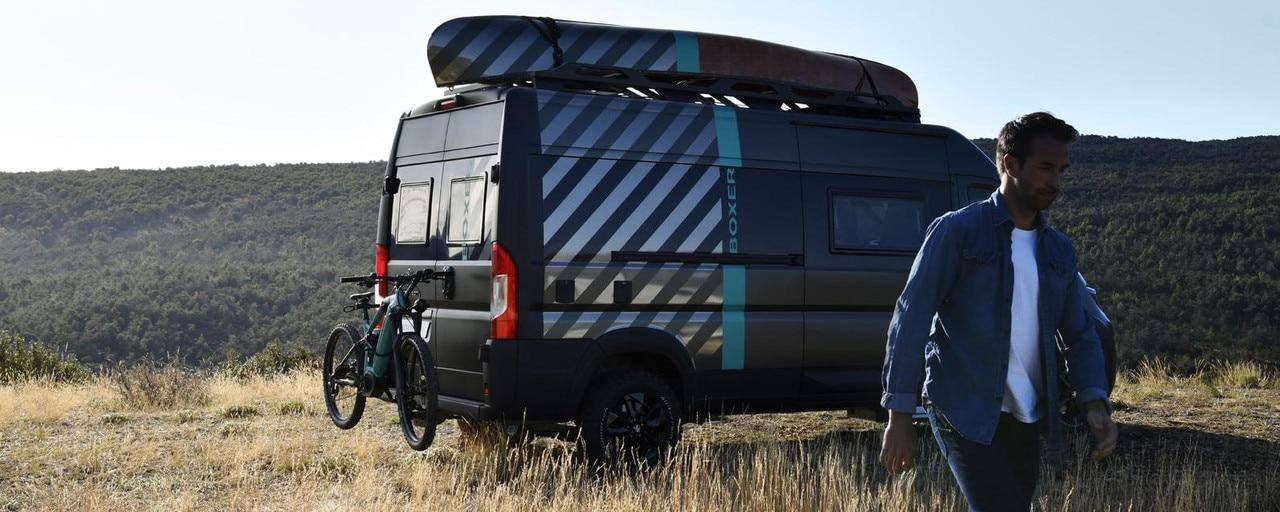 CONCEPTO PEUGEOT BOXER 4x4: la visión de la marca PEUGEOT de vehículo recreativo