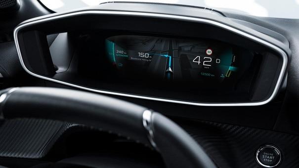 NUEVO PEUGEOT 208 – Cuadro de mandos digital 3D