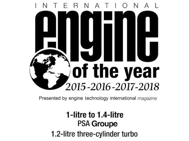 Motores Puretech Engine of the Year 2018