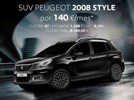 Oferta SUV Peugeot 2008 Style Febrero