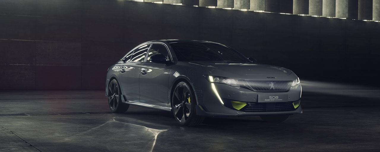Concept 508 Peugeot Sport Engineered - Concept Cars