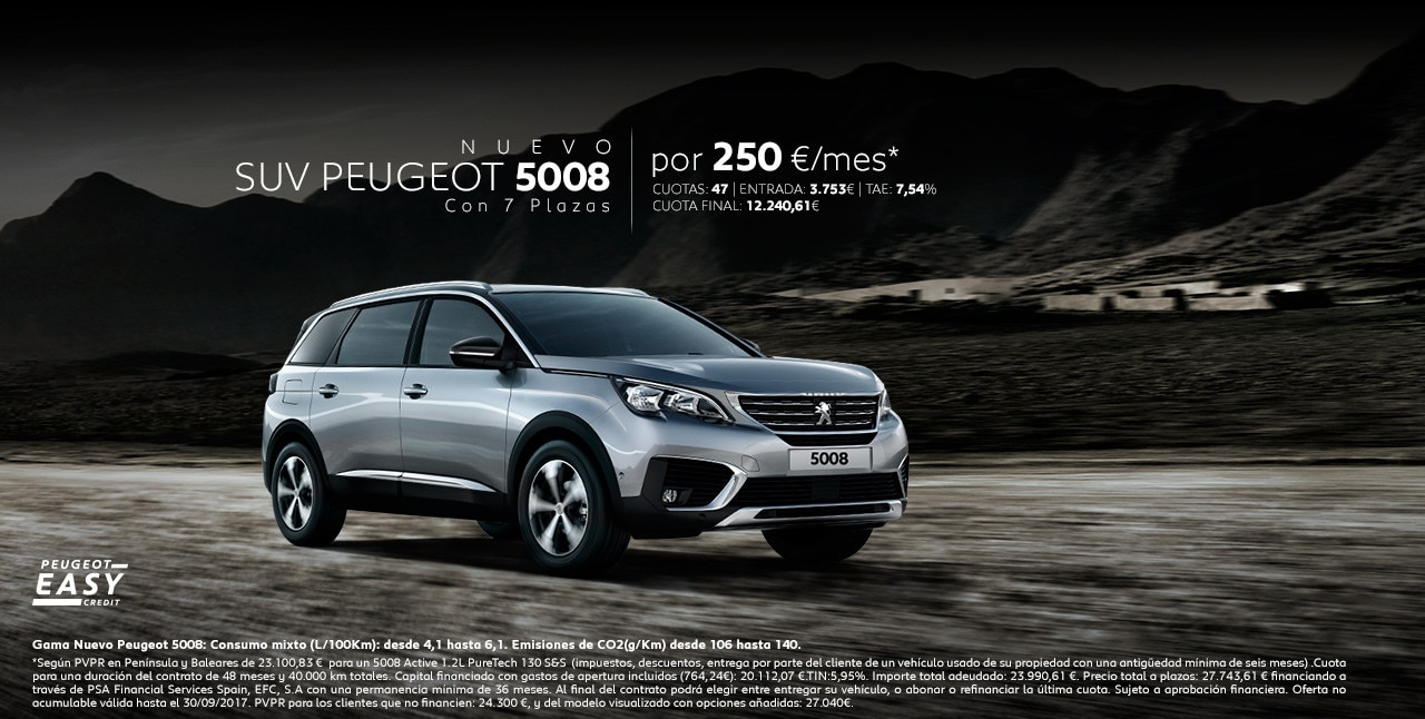Nuevo Suv Peugeot Prueba El Suv Plazas De Peugeot