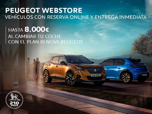 Gama Peugeot - Webstore