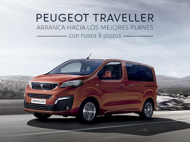 Promoción Peugeot Traveller
