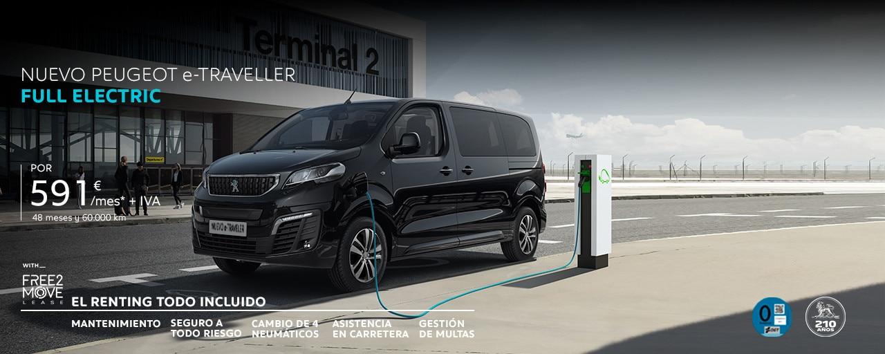 Nuevo Peugeot e-Traveller