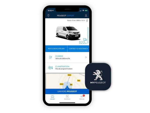 PEUGEOT e-Traveller – Aplicación MyPeugeot