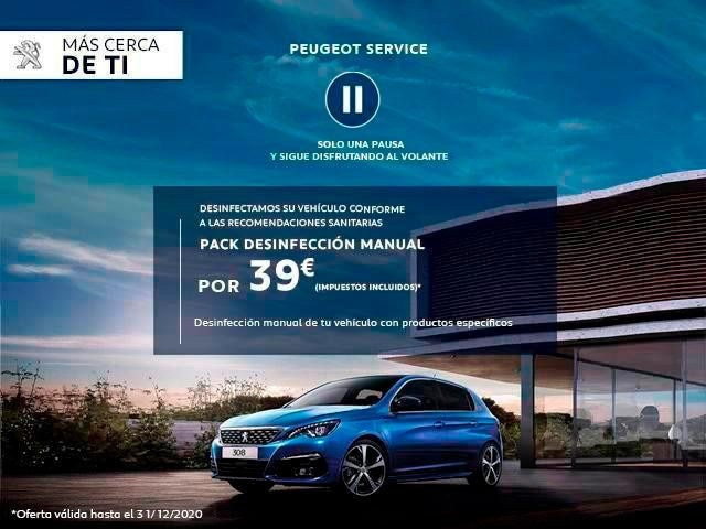 Desinfeccion Peugeot