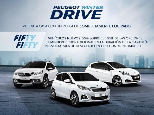 Oferta Peugeot Winter Drive
