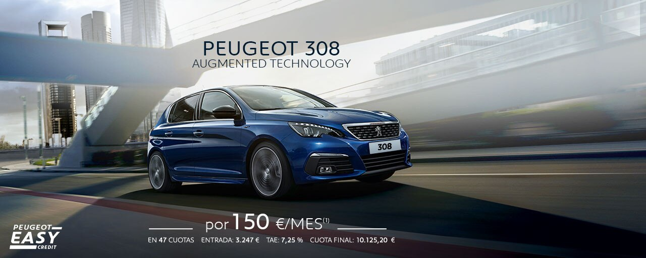 Peugeot 308 Cuotas Marzo