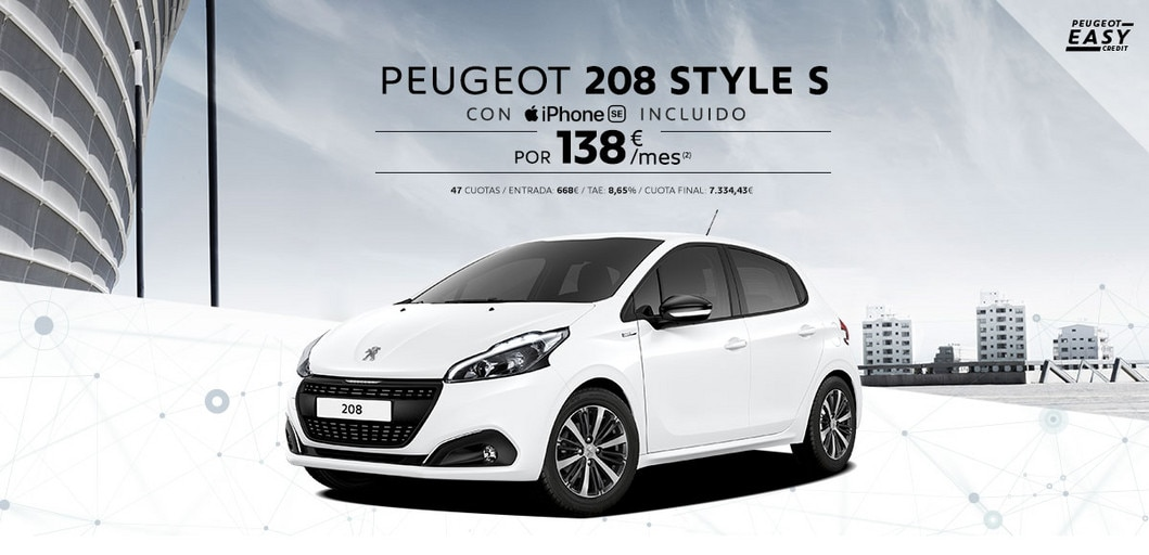 Peugeot 208 Style S iPhone