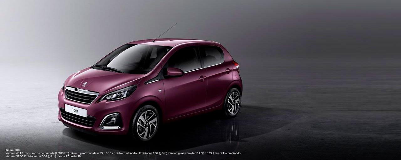 Mainbanner Peugeot 108 5 Puertas WLTP