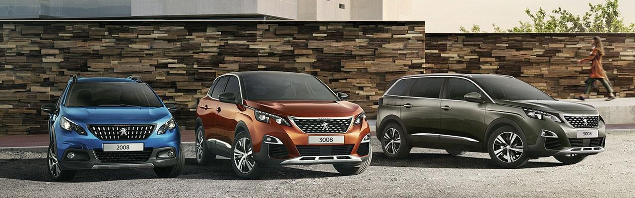 Gama SUV Peugeot: Nunca los SUV habían llegado tan lejos