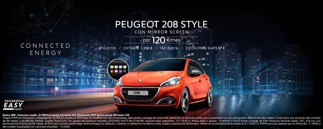 Mainbanner Peugeot 208 Style