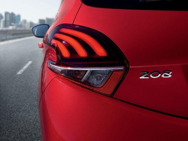Peugeot 208 5 Puertas - Faros traseros