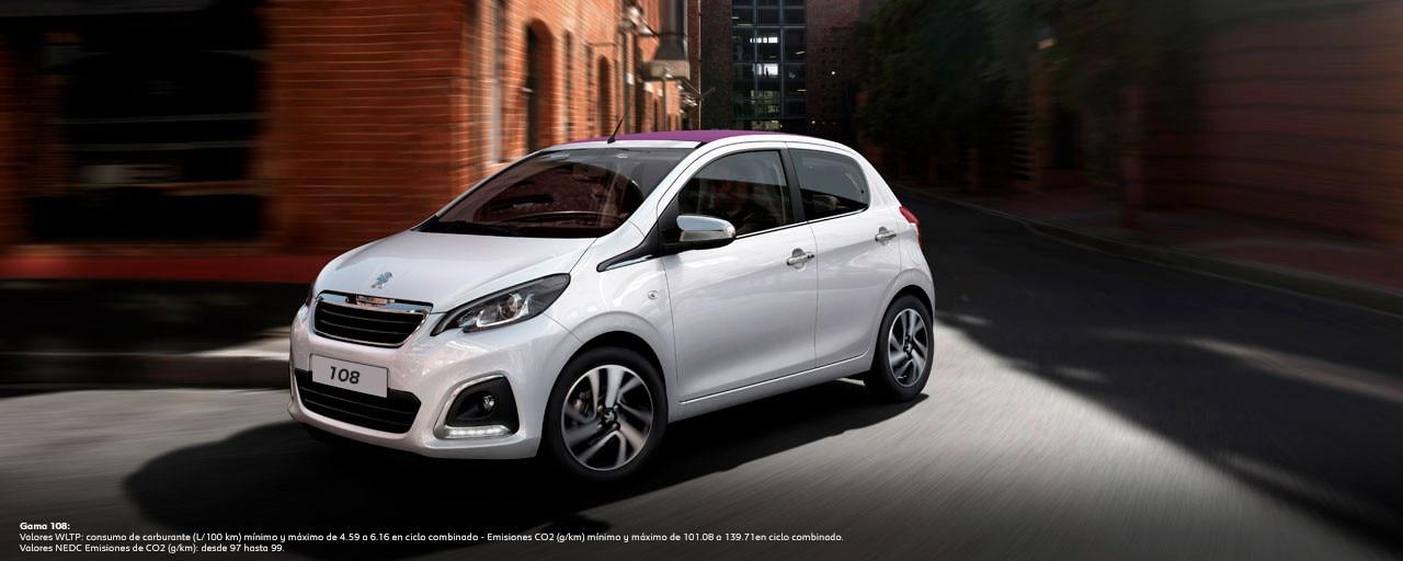 Mainbanner Peugeot 108 5 Puertas Top WLTP