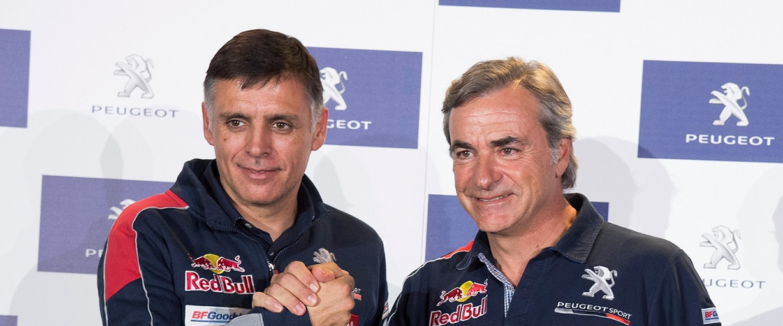 Carlos Sainz, Lucas Cruz y el Peugeot 3008DKR Maxi, a por el Dakar