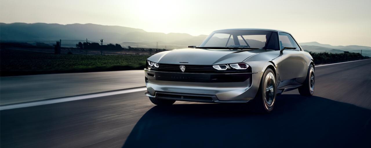 Peugeot e-legend Concepts
