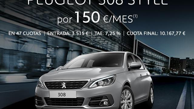 Oferta Peugeot 308 Style
