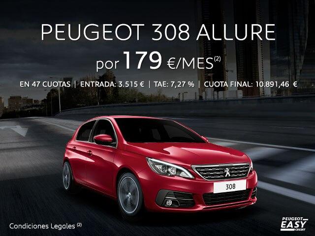 Oferta Peugeot 308 Allure