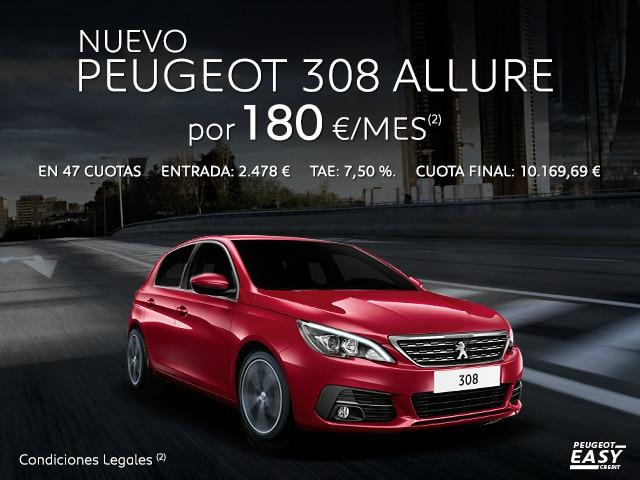Oferta nuevo Peugeot 308 Allure Easy Credit