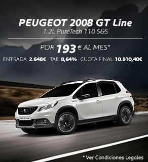Oferta Peugeot 2008 SUV GT Line