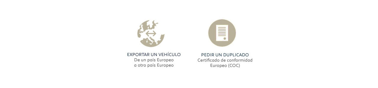 Certificado de conformidad europeo Peugeot (COC)