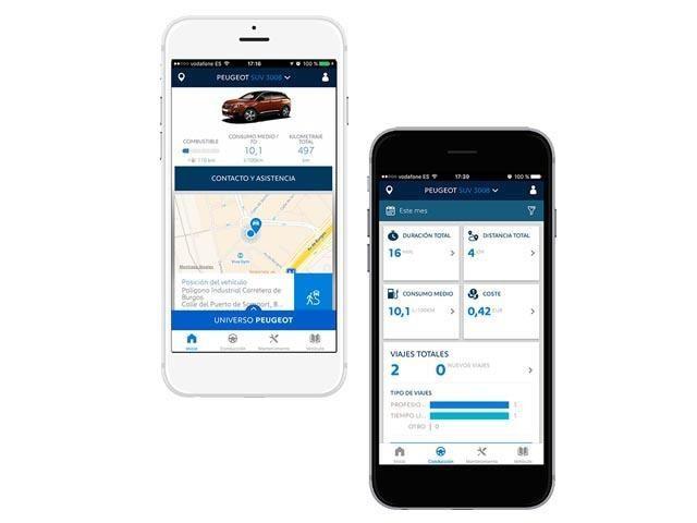 MyPeugeot App Tecnología Peugeot 508 SW