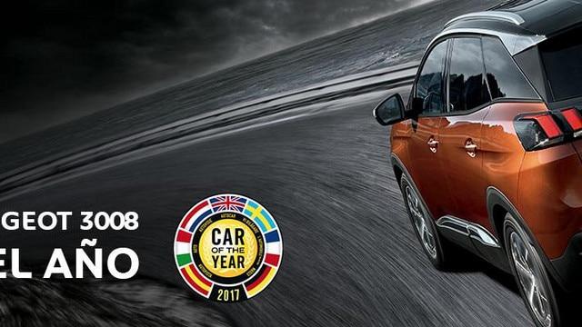 Coche del Año 2017 Nuevo SUV Peugeot 3008