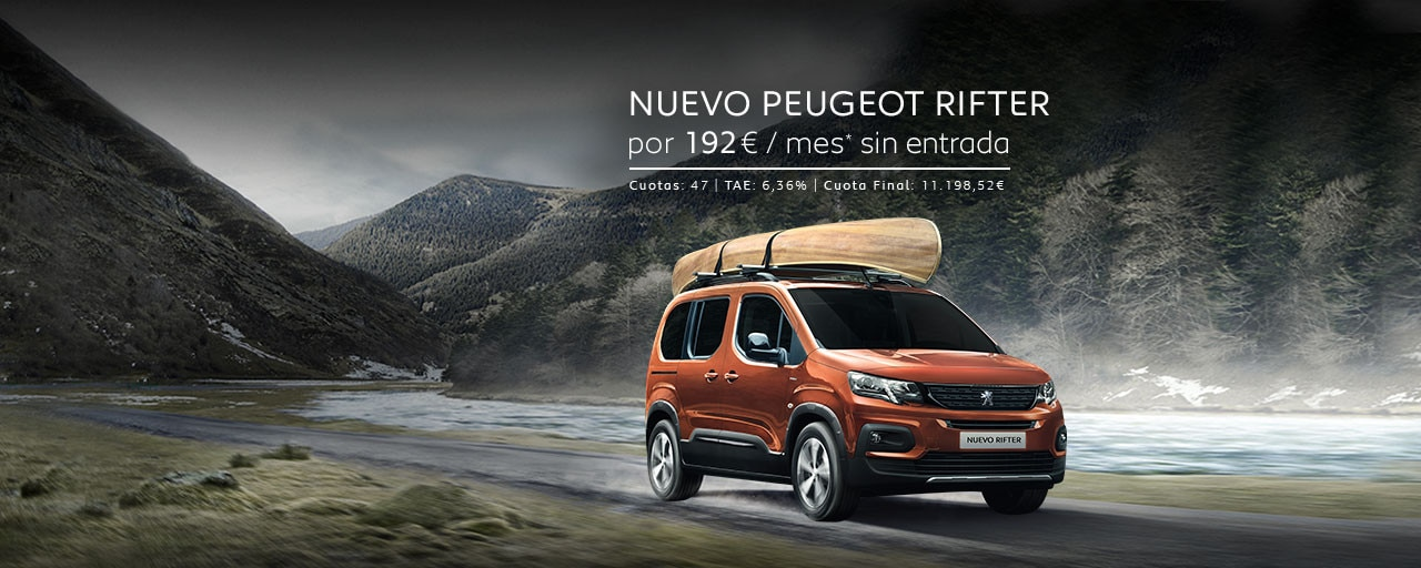 Nuevo Peugeot Rifter Cuotas Abril