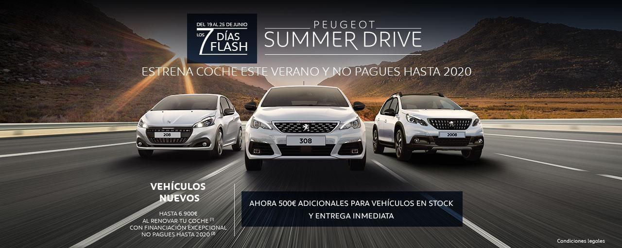 Peugeot Summer Drive - 7 Días Flash