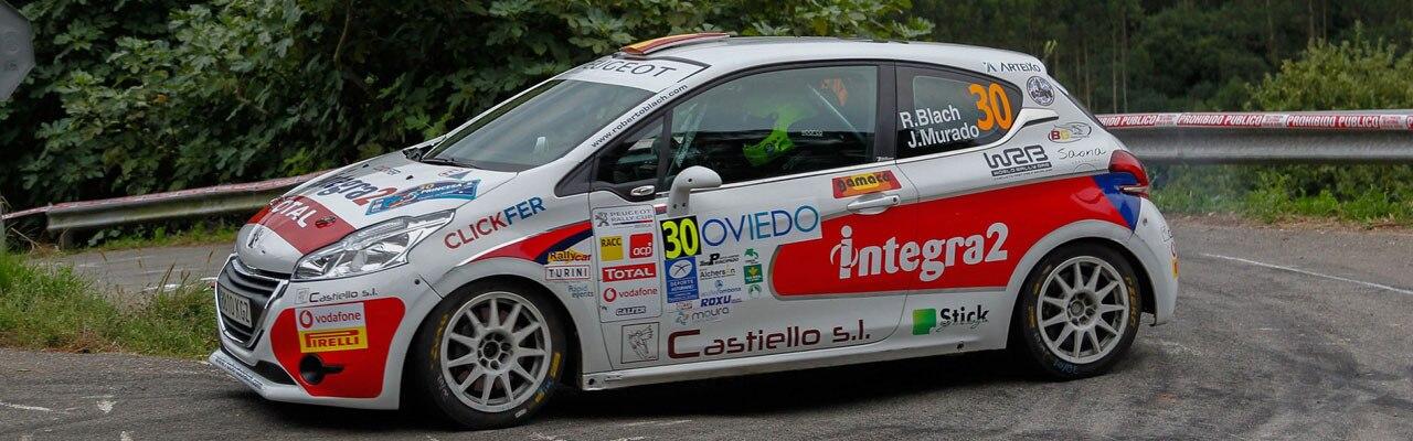 Jan Solans, primer triunfo en la Peugeot Rally Cup Ibérica