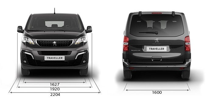 Peugeot Traveller Business dimensiones ancho